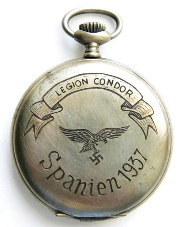 Legión Cóndor/ Reloj de Bolsillo Gravado